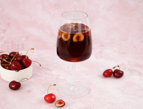 Mocktail Cherry Cold Brew